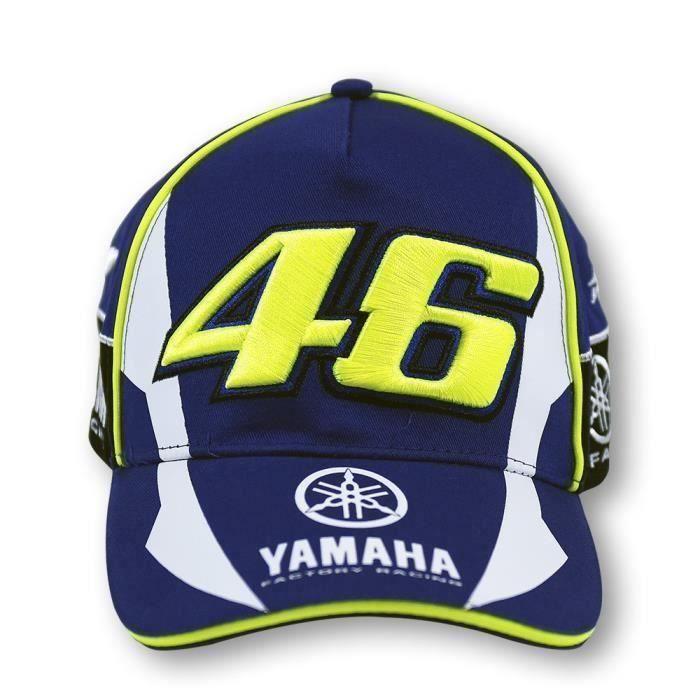Baseball Casquette Hommes et Femmes-F1 moto gp équipe de course de moto yamaha-Bleu LIA5580