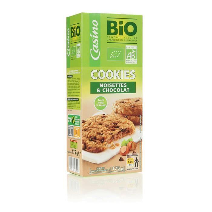 Cookie Chocolat noisette bio 175g