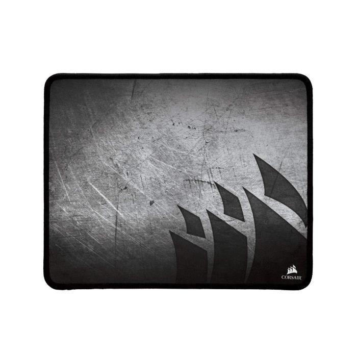 Corsair Mm300 Tapis de Souris Gaming (Petit, Anti Effilochement) Noir/Gris