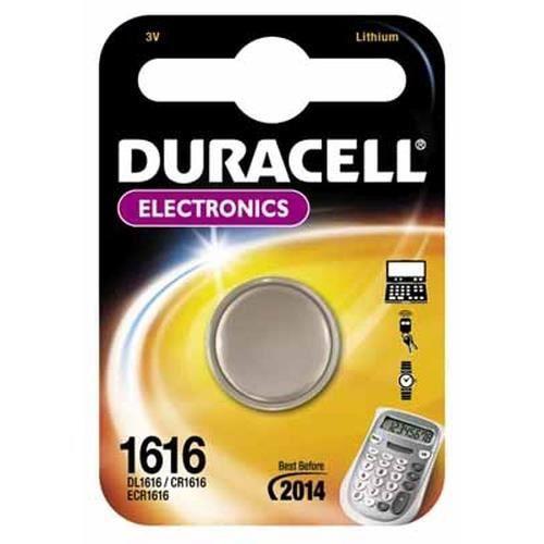 Duracell CR1616 3V, Lithium, Pile bouton, 3 V, 1 pièce(s), CR1616