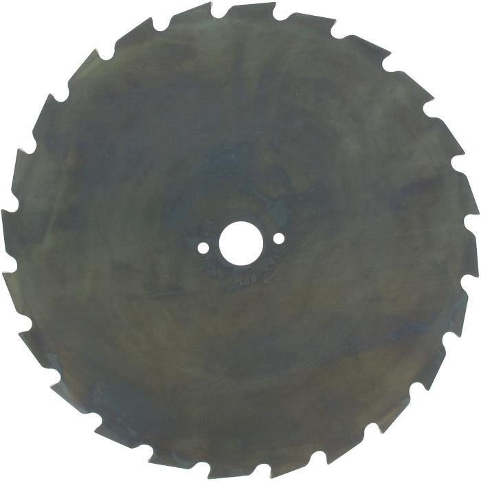 Lame maxi pour débroussailleuse - 24 dents Ø: de coupe: 225mm, alésage: 20mm