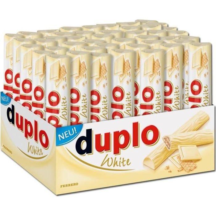 Ferrero Duplo blanc, barres, chocolat blanc, 40 P