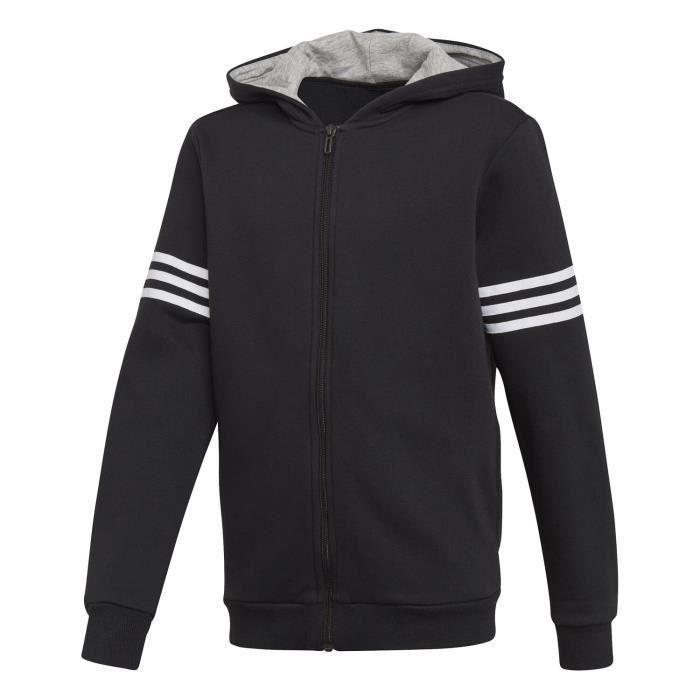 Veste Adidas Veste Sport Id Hoodie Noir Enfant
