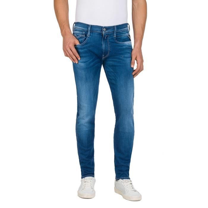 Replay Jeans Bleu Homme M914Y.000.661350-010