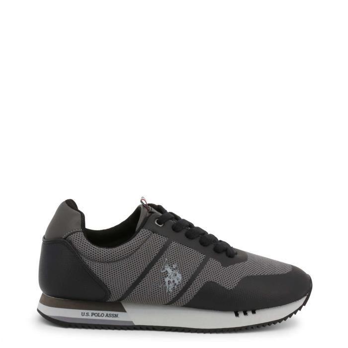 U.S. Polo - Sneakers pour homme (CORAD4247W9_TS1_BLK) - Noir