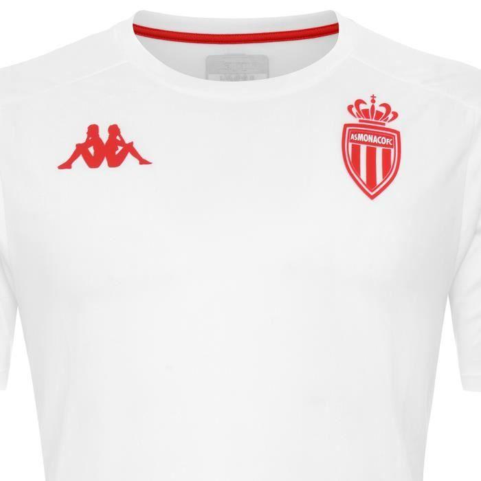 Maillot Aboes Pro 4 As Monaco Blanc