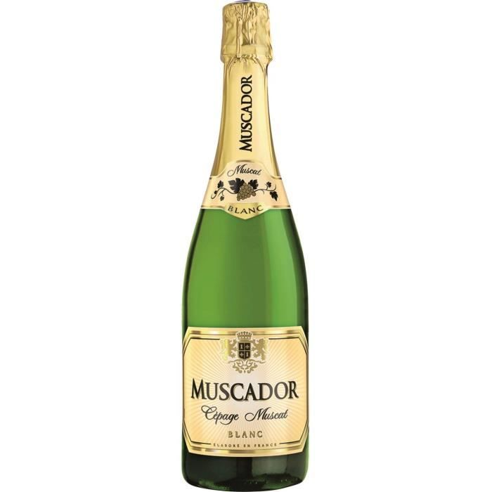 Muscador - Vin effervescent Blanc