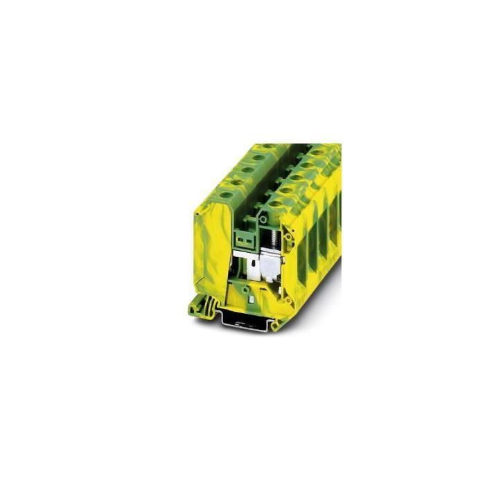 Bloc de jonction pour conducteur de protection Contenu: 50 pc(s) Phoenix Contact UT 35-PE 3044241