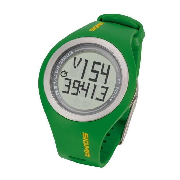 Sigma PC 22.13 Man Cardiofréquencemètre digicode Vert