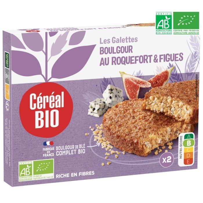 CEREAL BIO Galettes à base de céréales et de fromage Bio - 150 g