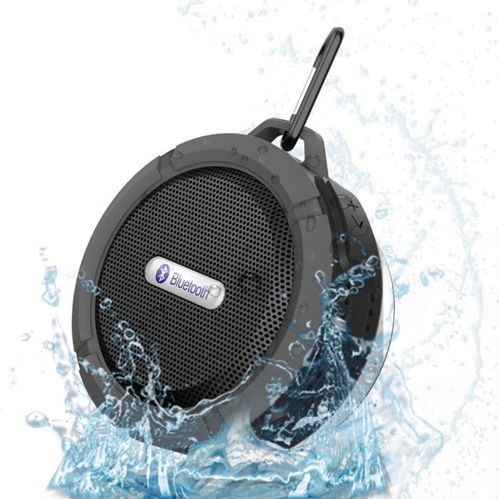 enceinte bluetooth waterproof achat vente enceinte bluetooth waterproof pas cher cdiscount. Black Bedroom Furniture Sets. Home Design Ideas