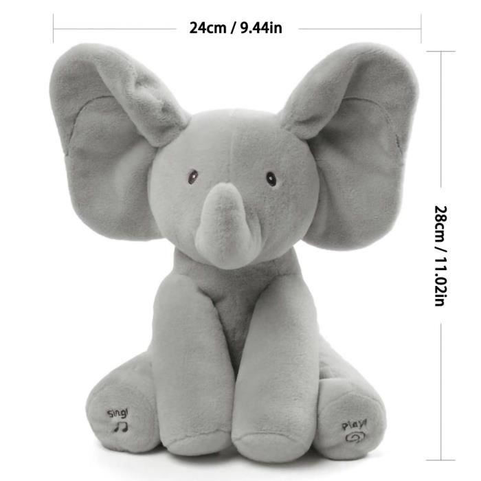 POUPON Peek a Boo éléphanté éléphant Flappy Chante  chans