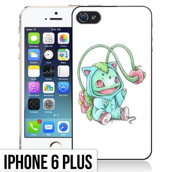 Coque iPhone 6 Plus- 6S Plus Bebe Pokemon - Bulbiz