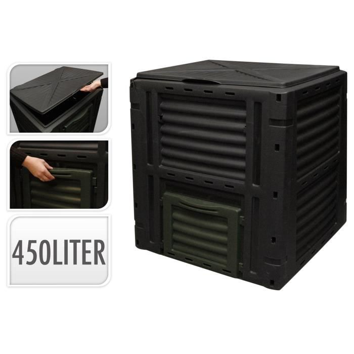 compost jardin composteur 450 litres thermo bac achat. Black Bedroom Furniture Sets. Home Design Ideas