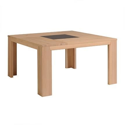 Table carr e pour s jour bruges ch ne naturel achat for Table de sejour carree