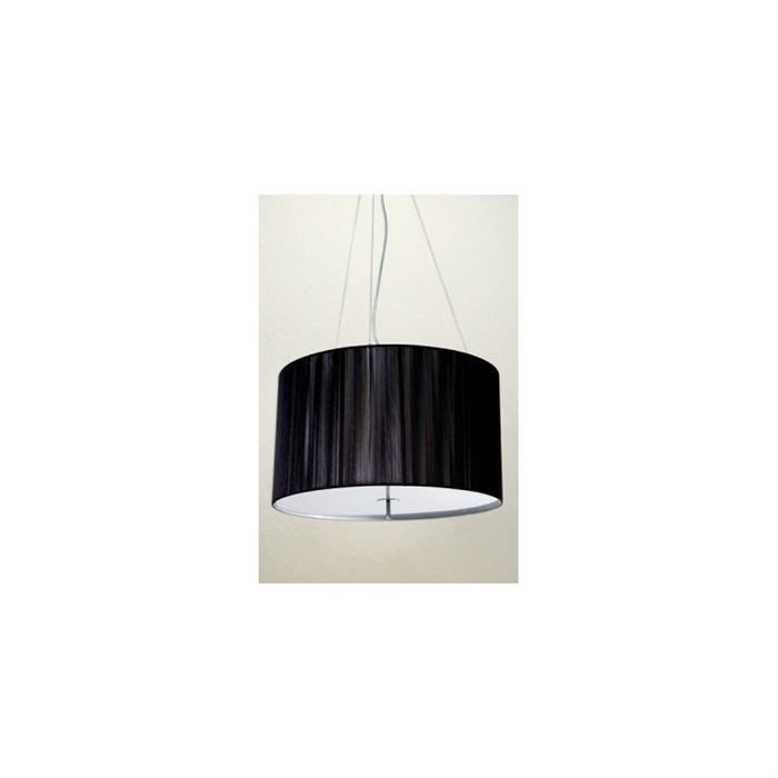 Lampe suspension design venise noir achat vente lampe for Suspension design noir