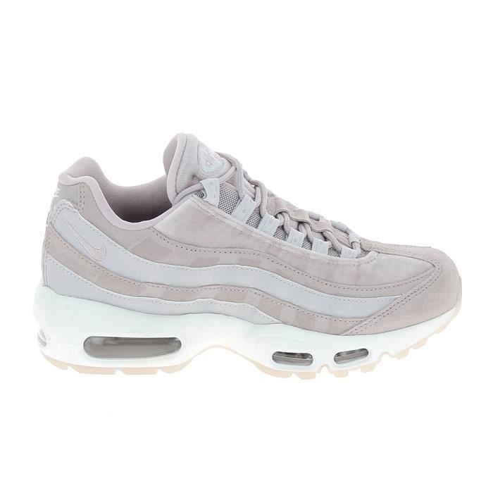 Basket -mode - Sneakers NIKE Air Max 95 LX Rose Gris AA1103-600