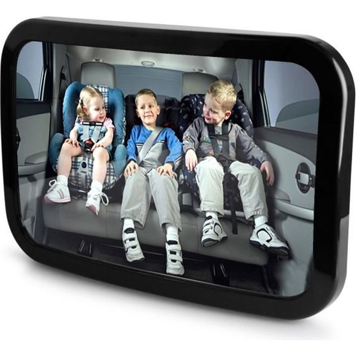 grosse voiture enfant b b miroir arri re r glable fa ade. Black Bedroom Furniture Sets. Home Design Ideas