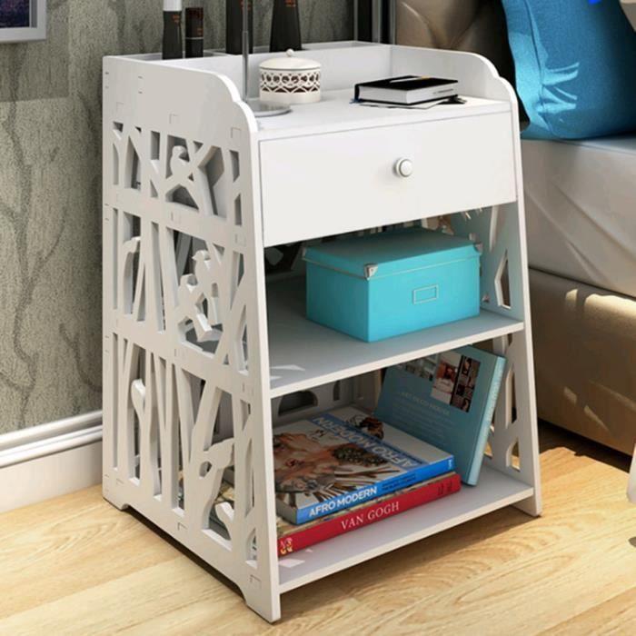 Chambre à coucher Table de chevet fleur Moderne Rack de ...