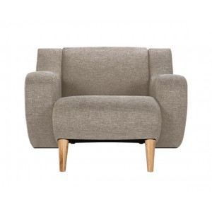 Fauteuil stockholm beige achat vente fauteuil tissu lin polyester cdi - Fauteuil stockholm occasion ...