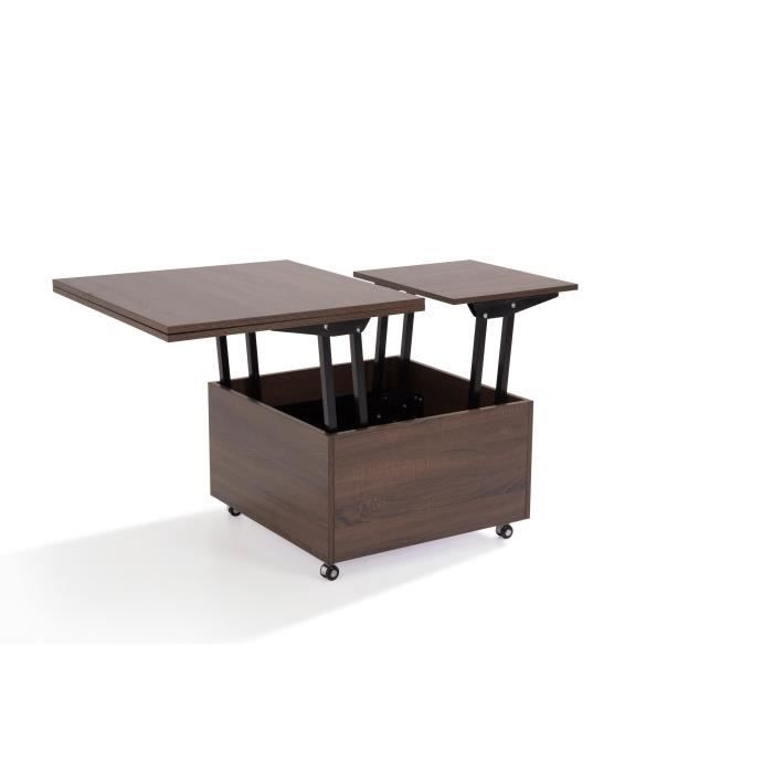 Giani table basse relevable achat vente table basse - Table basse relevable cdiscount ...