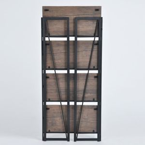 Etagere bibliotheque metal achat vente etagere for Meuble 60x30