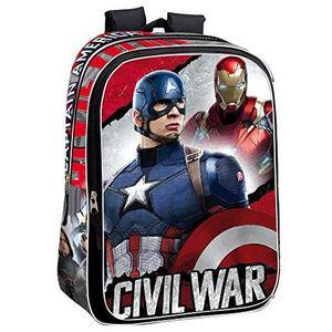 SAC À MAIN Marvel Guerre Civile 43 Cm La Justice  Captain Ame