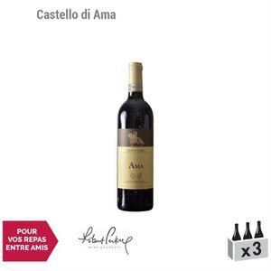 VIN ROUGE Chianti Classico Ama Rouge 2014 - Lot de 3x75cl -