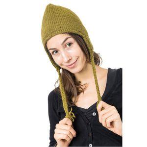 BONNET - CAGOULE Fantazia - Bonnet Nepal Laine - Bonnet  Vert Kaki