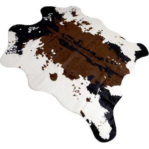 TAPIS LEEGOAL Tapis de sol Imitation peau de Vache Tapis