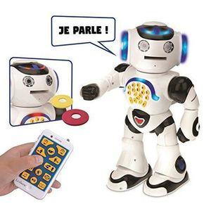 DVD INTÉRACTIF LEXIBOOK Powerman - Robot edukatif interactif pour