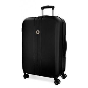 VALISE - BAGAGE Grande valise rigide Movom Riga Noir 70cm