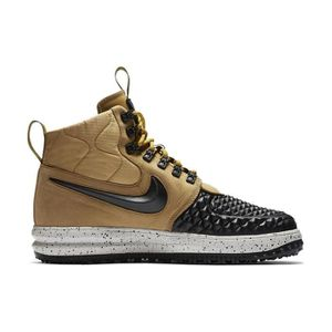 BASKET Chaussures Nike Lunar Force 1 Duckboot 17 Gold Bla