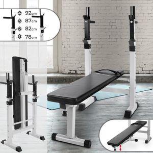 BANC DE MUSCULATION Banc de Musculation Pliable | Hauteur Réglable, av
