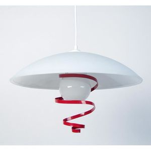 LUSTRE ET SUSPENSION NINFA,  10758; rouge  _ Luminaire, Suspension