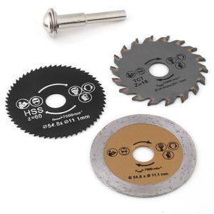 Utile 7x 6 mm HSS Lame de scie circulaire coupe disques Cut-Off Wheel pour outil rotatif