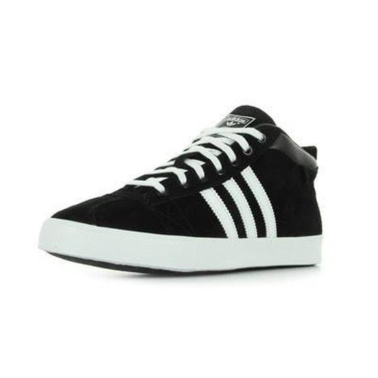 Adidas Gazelle 50S mid Noir Noir et blanc - Cdiscount Chaussures