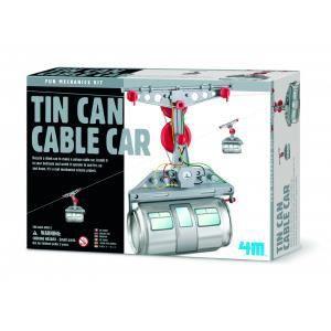 ASSEMBLAGE CONSTRUCTION Canette téléphérique (Tin Can CableCar)