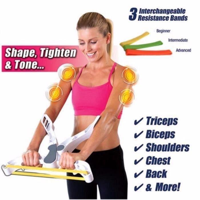 New Wonder Arms Bonne figure Système de conditionnement physique Arm Upper Body Workout Machine @YC