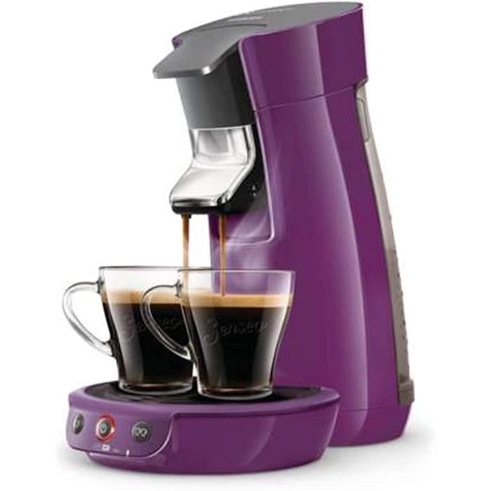 Philips HD6561/41 Senseo Viva Machines à Café à Dosettes, 0.9 liters, Violette