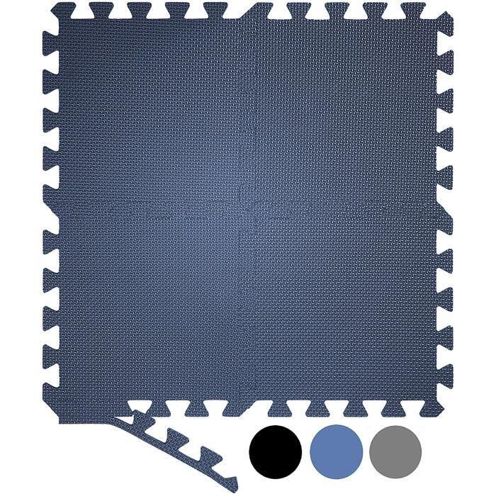Tapis de sol en mousse emboîtable 20 pièces grand tapis de gymnastique tapis d'exercice, tapis de gymnastique, tapis de sol pour tap