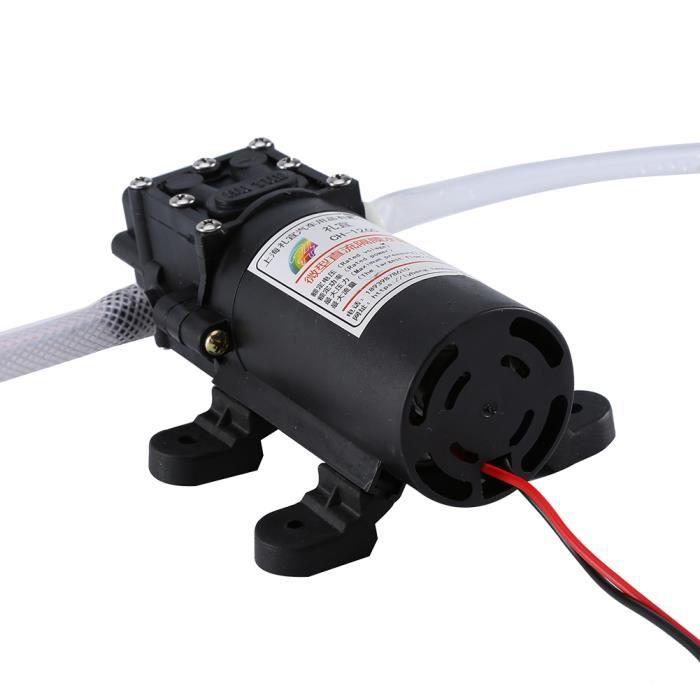 Eléctrique Pompe Vidange Extraction Huile Diesel Extracteur Aspiration Kit 12V 60W Pompe électrique d'extraction d'huile-RUR