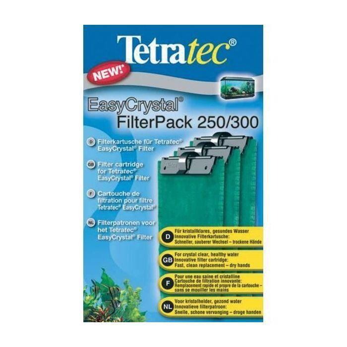 TETRA Cartouches Filtre EasyCrystal Pack 250/300 (Lot de 3)