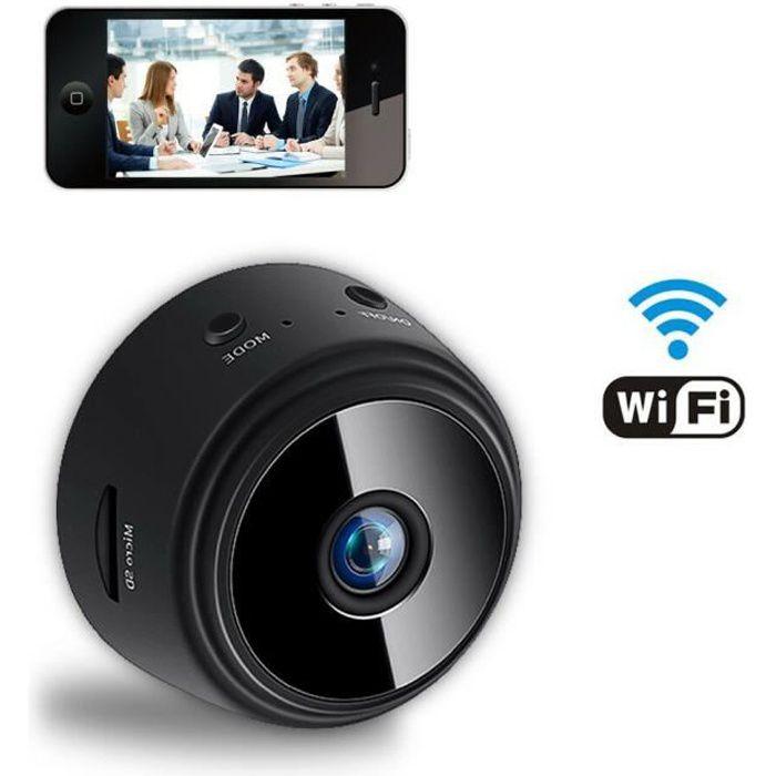 Mini Caméra Espion HD 1080P WiFi Cam Cachée sans Fil Vision Nocturne Caméra de Surveillance de Sécurité Enregistreur Vidéo