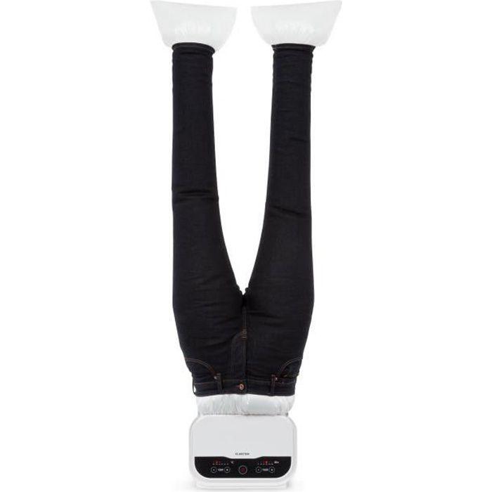Klarstein ShirtButler Pro Système de séchage & repassage 1200W - Température réglable - Blanc