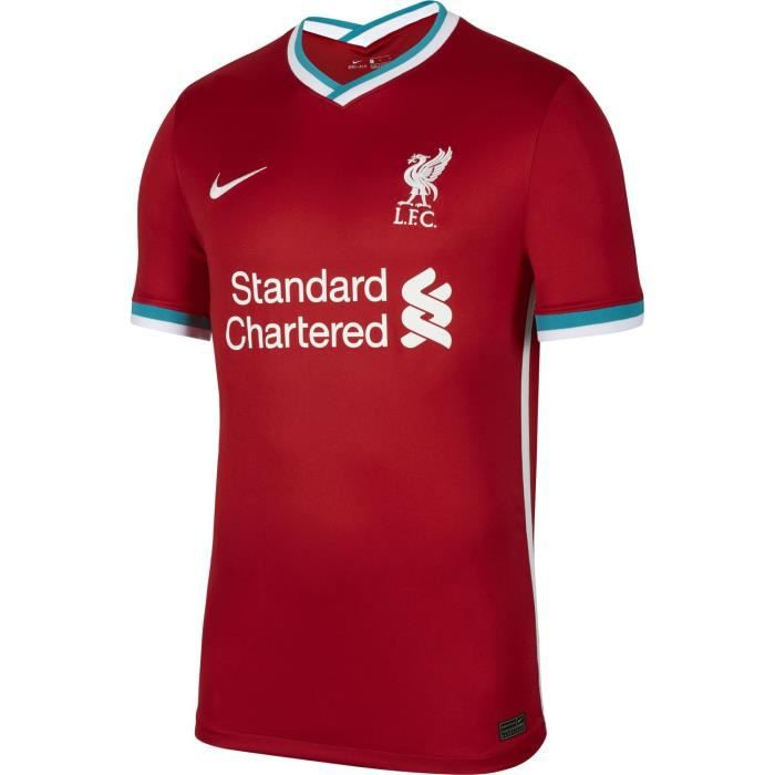 Maillot Nike Liverpool Domicile 2020-21 rouge homme