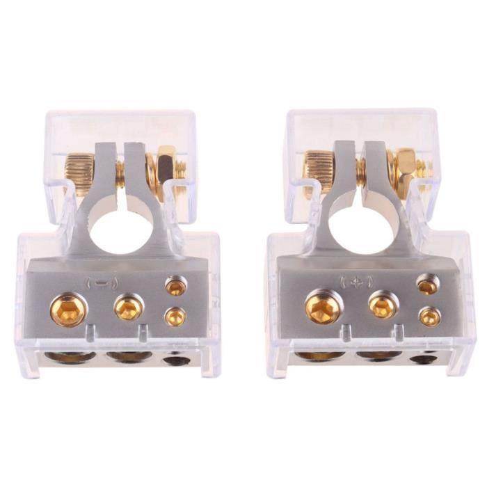 1 paire de clip de batterie de voiture Prime Audio modifié cuivre durable connecteur de haute qualité tête de pour van PINCE AUTO