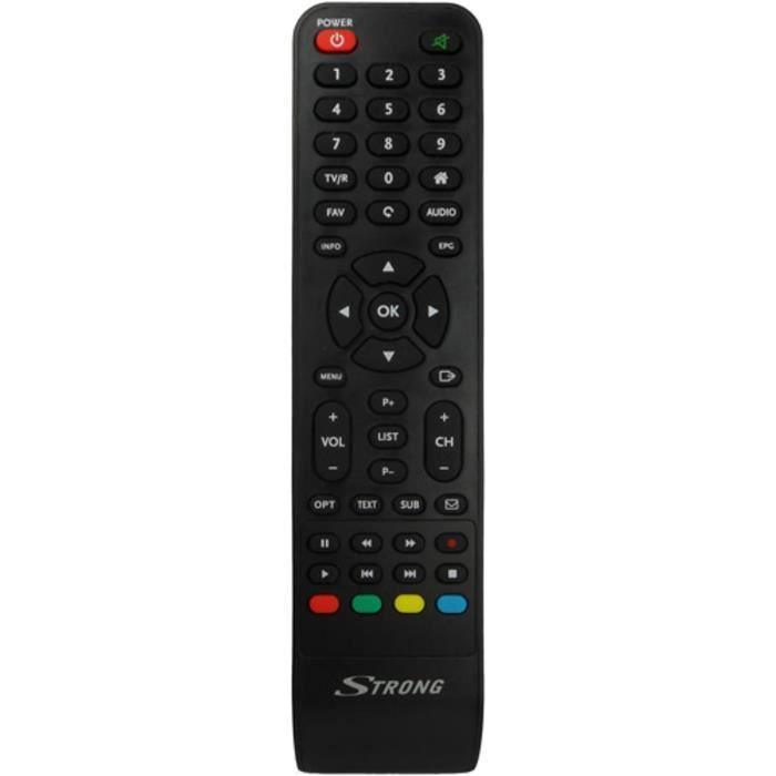 STRONG Télécommande d'origine pour récepteur boitier TV modéle SRT7402 & SRT7403