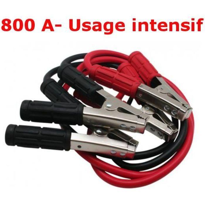 CABLE DE DEMARRAGE-800A-Utilisation intensive