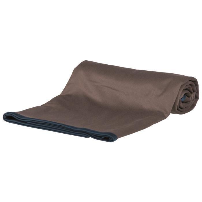 TRIXIE Plaid d'extérieur Insect Shield® - 150x100 cm - Taupe - antiparasitaire - Pour chien